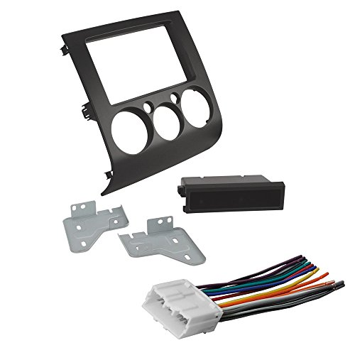 Car Stereo Radio CD Player Dash Install Mounting Kit + Harness for Mitsubishi
