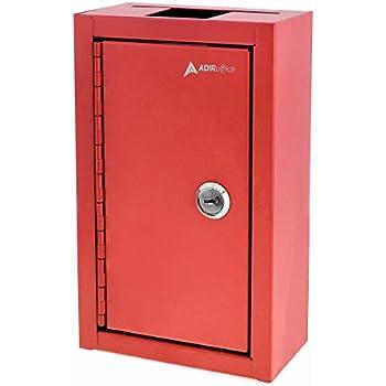 Adiroffice Large Key Drop Box Large Capacity Commercial