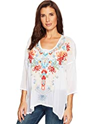 Johnny Was Womens Valerie Blouse