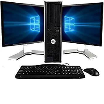 Outstanding Dell Optiplex Windows 10 Core 2 Duo 3 0Ghz 8Gb 1Tb With Dual 19In Lcd Monitors Brands May Vary Renewed Download Free Architecture Designs Momecebritishbridgeorg