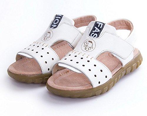 Evedaily - Zapatillas Bebé-Niños Weiß