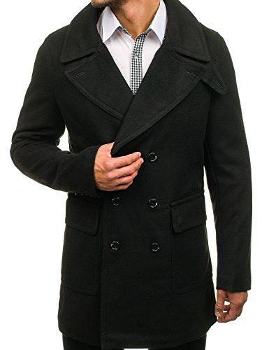 MIX BOLF 1048 Invierno Hombre Negro De Abrigo zWRaPnz
