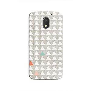 Cover It Up - Odd Hills Grey Moto E3 Hard Case