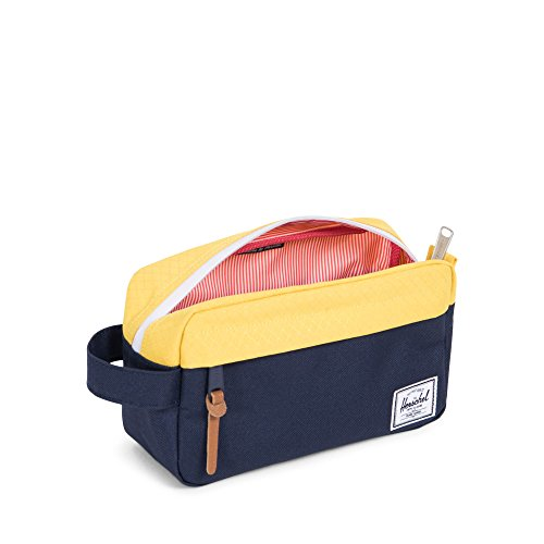Herschel Supply Co. Chapter Carry on Travel Kit, Peacoat/Cyber Yellow by Herschel Supply Co. (Image #1)