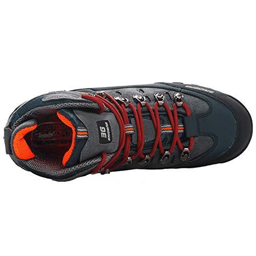 de Yaer Randonnée Imperméable Hommes Bottines Air Marche Plein Chaussures Bottes en de pour Noir Jaune Trekking 8qETqC