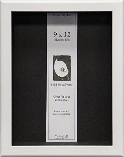 - 9x12 Shadow Box Wood Frame 2 1/8