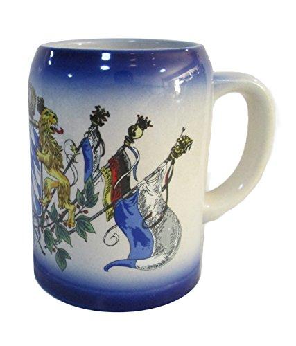 German Coffee Mug with Bavarian Coat of Arms