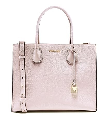 MICHAEL Michael Kors Women's Mercer Tote, Soft Pink, One - Michael Kors Pink