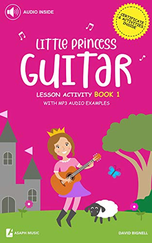 Little Princess Guitar Lesson Activity Book 1 - With MP3