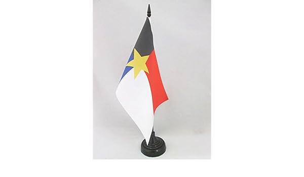 AZ FLAG Bandera de Mesa del REGIONALISMO MANCHEGO 21x14cm ...