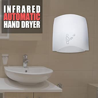 Automatic Infrared Hand Dryer Electric Restaurant Bathroom Industrial Scientific