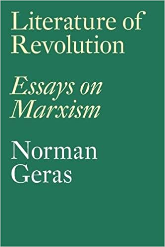 literature of revolution essays on marxism norman geras literature of revolution essays on marxism norman geras 9781786633187 com books
