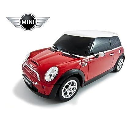 Amazon Com 1 14 Mini Cooper S Toy Car Rc Remote Control Car Toys