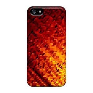 Lava Triangles Cases Compatible With For Case Iphone 5/5S Cover Hot Protection Cases