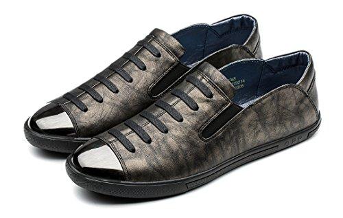 Opp Menn Uformelle Sko Silp-on Dagdriver Sneaekr Bronse