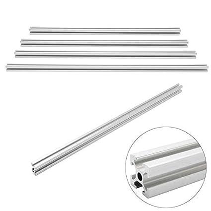 Faway 2020 Aluminum T-slot Extruded Framing Profile, 600mm