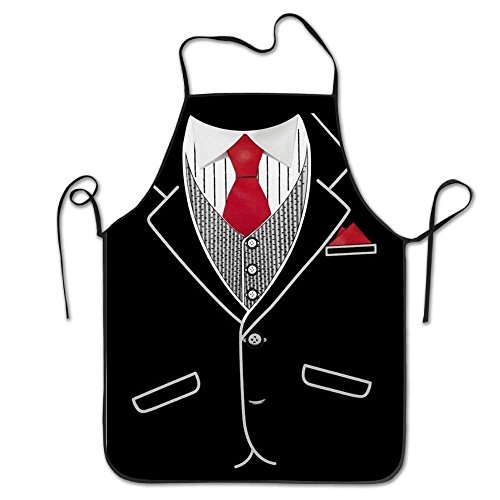 Smock Housekeeping (Mouthdodo Tuxedo Creative for Family Man Chef Aprons One Size Features Studio Apron)