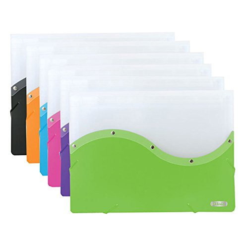 New 401880 Two Tone Letter Size Document Case (12-Pack) Binders Cheap Wholesale Discount Bulk Stationery Binders Document Case