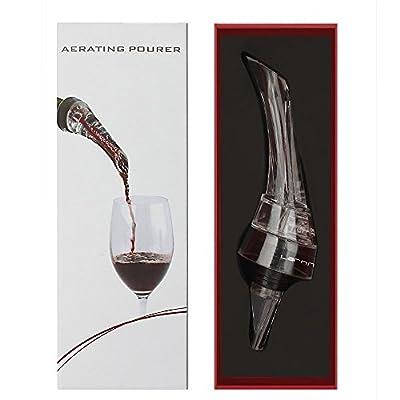 Larnn Wine Aerator Pourer Red Wine Decanter Premium Quality Wine Accessories Gift¡