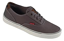 Levis Men's Rob Ct Canvas Fashion Sneaker, Khaki, 9 M US