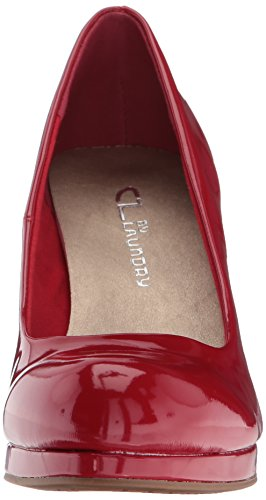 Cl Por Chinese Laundry Mujeres Nilah Platform Pump Red Patent