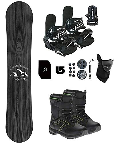 Symbolic Knotty Kids Snowboard & Bindings & Boots Package