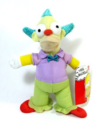 "The Simpsons - 9"" Krusty the Clown Plush"