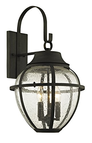 Troy Lighting B6452 Bunker Hill Outdoor Wall Sconce, Vintage Bronze -