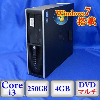 新作モデル 【中古デスクトップパソコン】HP HP HP 250GB Compaq 6200 Pro 3.1GHz SFF [LE282PA#ABJ] -Windows7 Professional 32bit Core i3 3.1GHz 4GB 250GB DVDハイパーマルチ(B1209D041) B01AXNZ60W, KMサービス:4daaf721 --- smartskills.ie