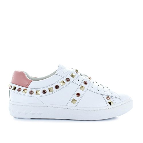 Ash Women's Shoes Play White/Pink Studs Sneaker Spring Summer 2018 FBg6NlF
