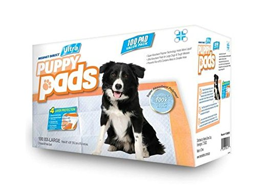 Mednet Direct Ultra Absorbent Pet Training and Puppy Pads for Dogs and Pets, XXL-Large (30