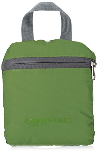 Amazon Basics Ultralight Portable Packable Day Pack 4 Ultra-light packable daypack with 2-way zipper for secure closure Roomy main compartment, 1 front zipper pocket, internal zippered pocket, and 2 mesh side pockets Adjustable breathable straps ensure a proper fit and comfortable all-day use