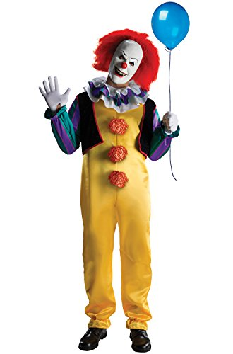 [Rubie's mens It The Movie Adult Pennywise Adult Deluxe Costume, Multicolor, X-Large] (Scary Costumes)