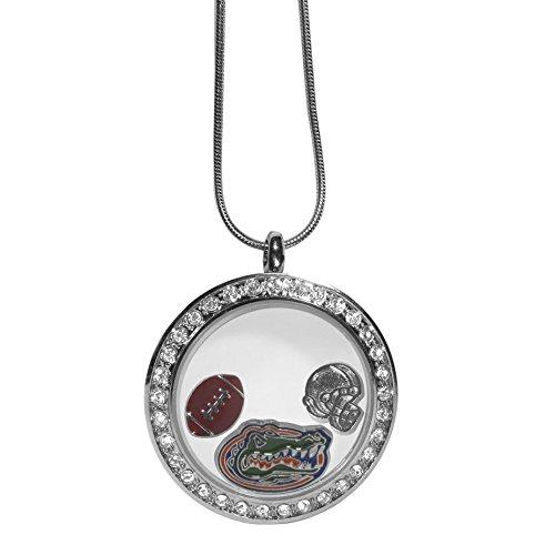 (Siskiyou NCAA Florida Gators Charm Locket Necklace, 18