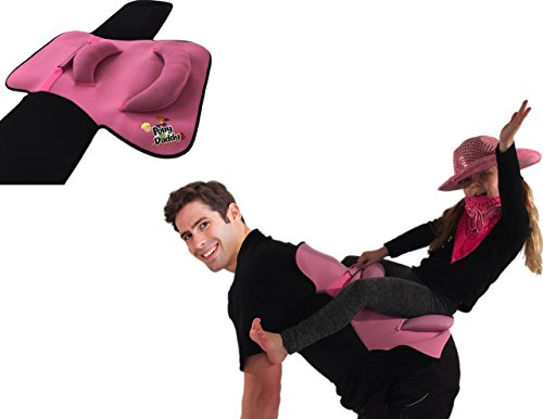Pony Up Daddy Saddle - Princess Pink