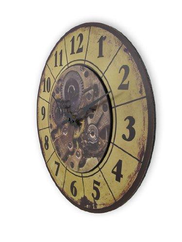 Things2Die4 Steampunk Gear Art Wall Clock 15 in. 4