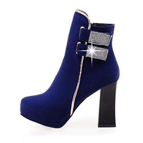 YE Blu Donna Stivali Stivali YE classici 4qn6d6
