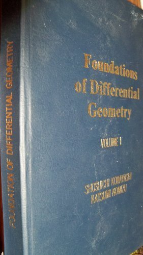 Foundations of Differential Geometry, Volume 1 (Pure and Applied Mathematics: A Wiley-Interscience Series of Texts, Mono