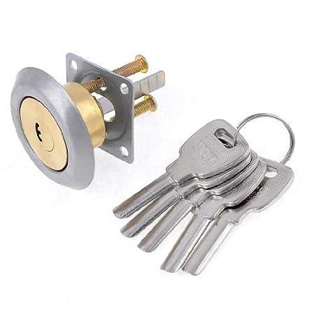 Para cajones de armarios Locker antirrobo cilindro de Cerradura de w 5 llaves de seguridad: Amazon.es: Bricolaje y herramientas