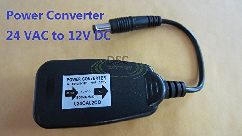 Power Converter 24V AC to 12V DC Max 1.5A Output