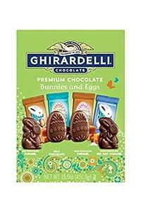 Ghirardelli Premium Chocolate Bunnies & Eggs (15.9 OZ), 15.9 oz