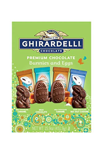 Ghirardelli Ghirardelli Easter Chocolate Bunnies and Eggs XL Bag XL Bag 15.0oz, 15.9 Ounce