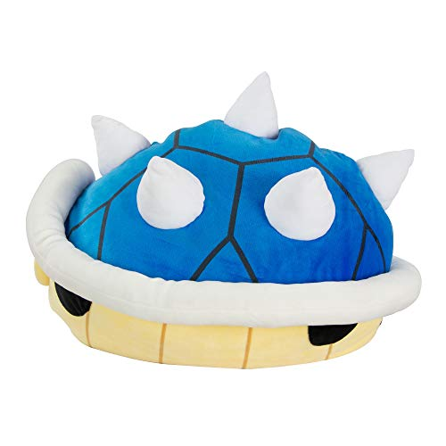 Club Mocchi Mocchi Nintendo Mario Kart Blue Shell Plush Stuffed Toy (Blue Turtle Shell Mario)