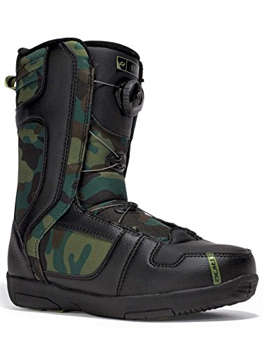 Ride Kids Snowboard Boots (Ride Spark Snowboard Boots - Youth Camo 3)