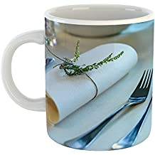 Westlake Art - Table Cutlery - 11oz Coffee Cup Mug - Modern Picture Photography Artwork Home Office Birthday Gift - 11 Ounce (B0FC-01317)