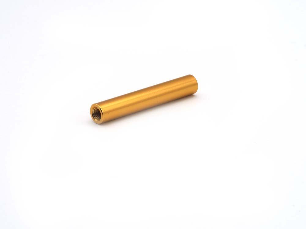 Gold upsido 10 St/ück Aluminium Standoff Rund M3x5x30mm Stand-off Spacer 30mm L/änge FPV Frame