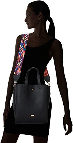 W 13x30x25 para Negro MTNG x L H Negro cm Shopper x Mujer Marya Pu 50 wRw0IFq