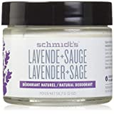 Schmidt's Deodorant - Lavender and Sage (All-Day Protection and Wetness Relief; Aluminum-Free)
