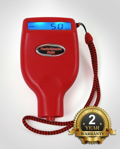 FenderSplendor FS488 Paint Meter / Gauge. 15,000 Meters Sold to Date, Sold and Warrantied in the USA with 2 Year Exchange Warranty. Avoid $3000 Losses When You Miss - Warranty Exchange