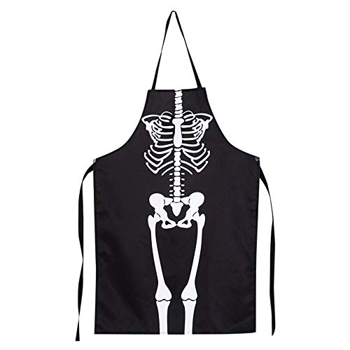 Lovewe 1PCS Kitchen Cosplay Horror Chef,Halloween Skeleton Apron Costume Party Supplies by Lovewe_Halloween Decoration (Image #8)
